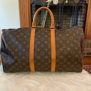 Authentic Louis Vuitton Keepall 45 Travel Bag